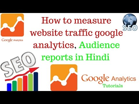 how to measure website traffic google analytics | Audience reports in Hindi [Part 2]