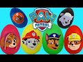Paw Patrol Nickelodeon Play Doh Surprise Eggs Toys With Chas