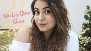 Soft Winter Glow Glam    Current Everyday MakeUp    Muskan Chanchlani
