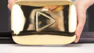 GOLD PLAY BUTTON - WHAT INSIDE?