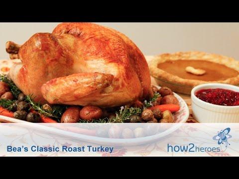 Bea's Classic Roast Turkey