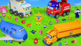 Super Wings Toys: Fire Truck, Police Cars & Jet Robot Toy Vehicles for Kids