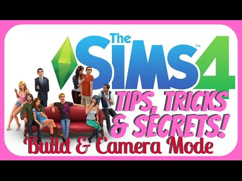 The Sims 4 // TIPS & TRICKS // Colors, Sizing & Camera Mode!