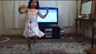 Kitty baby dance on brahvi dhol sound