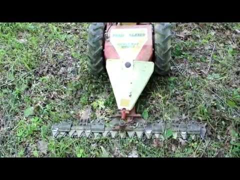 Sickle Bar Mower Garden Way's Trailblazer for trail clearing REVIEW