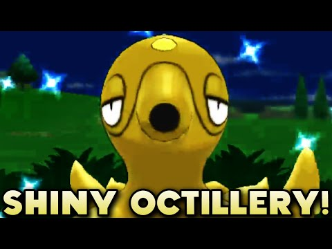 FRIEND SAFARI SHINY!  - Shiny Octillery Friend Safari (412 Friend Safari Encounters) - Pokemon XY FS
