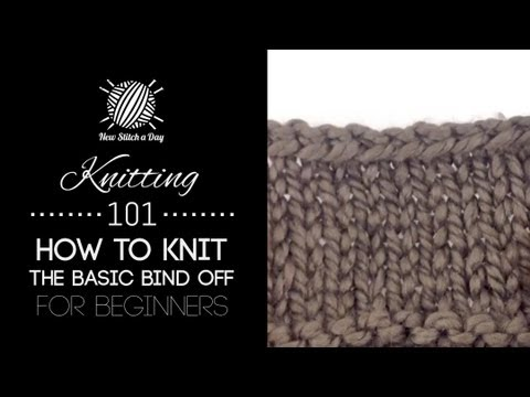 How To Bind Off Knitting 3 Ways Craftsy Knitting Tutorial