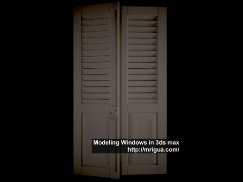 Modeling Windows Using 3ds max