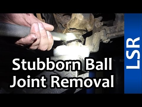 Removing Stubborn/Stuck Lower Ball Joint - Tacoma 1998
