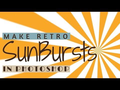 Make Retro Sunburst Effects in Adobe Photoshop