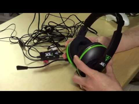 Turtle Beach Ear Force XL1 for Xbox 360 Review - Amplified Stereo Gaming Headset - FFP