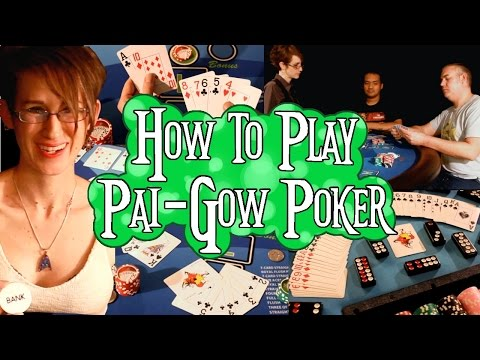 How to Play Pai Gow Poker FULL VIDEO