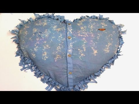 how to Reuse Your Old Clothes to make pillows, rugs, carpet, table mat clothes recycling