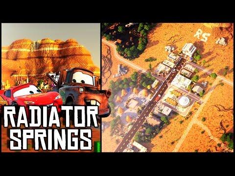 Minecraft - Radiator Springs (Disney Movie Cars) + Download