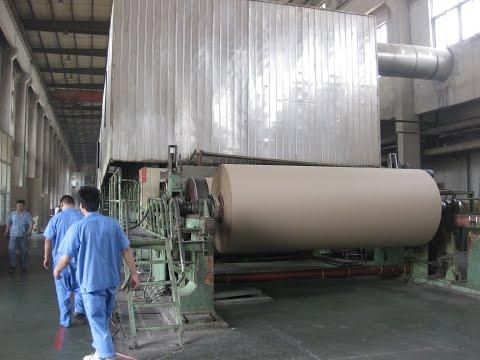 cylinder mould corrugated paper/kraft paper/cardboard paper making line