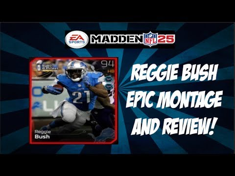Madden 25 Ultimate Team: 94 Overall Reggie Bush Montage and Review!  MUT 25!