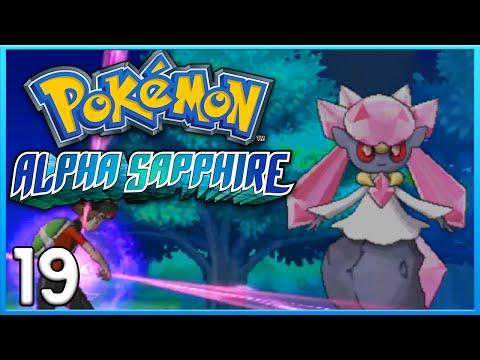 Pokemon Alpha Sapphire Part 19 - Mega Diancie Event ORAS Gameplay Walkthrough