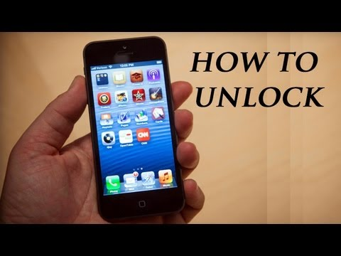 How to Unlock iPhone 5 AT&T - Works for all versions!