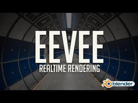 First Look at Eevee: Blender's Realtime Rendering Engine
