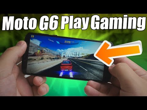Moto G6 Play Gaming Review