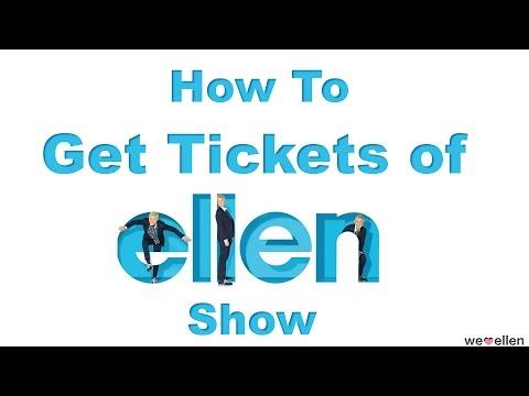 How to Get Tickets of The Ellen DeGeneres Show