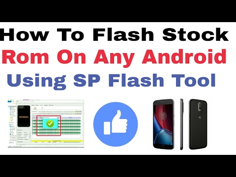 How To Flash Stock Rom On Any Android Device Using SP Flash Tool