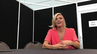 NYCC 2018: Future Man-interview with Eliza Coupe (Tiger)
