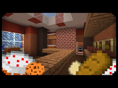 ✔ Minecraft: How to make a Bakery