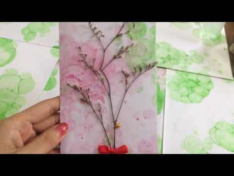 DIY Dried Flower Greeting Card EASY Tutorial