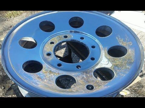 How To Sand And Polish Aluminum Rim To Mirror Finish