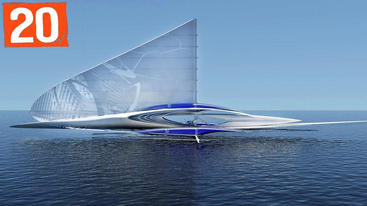 Top 20 Amazing Future Boats