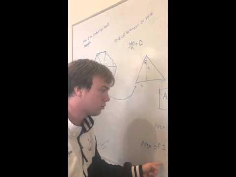 Finding area of a circumscribed polygon