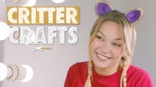 Animal Ear Hair Clips   Critter Crafts