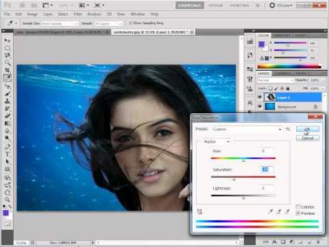 Photoshop Beginners Tutorial #5 || Change Background [In Hindi]