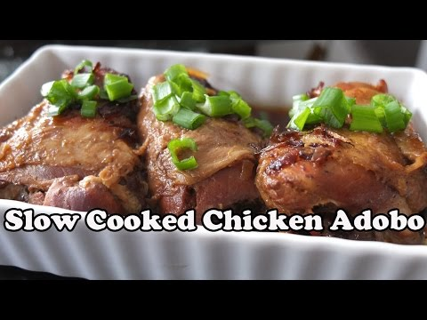 Slow Cooked Filipino Chicken Adobo