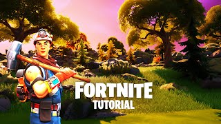 Fortnite Creative - HOW TO get REALISTIC TERRAIN - Tutorial
