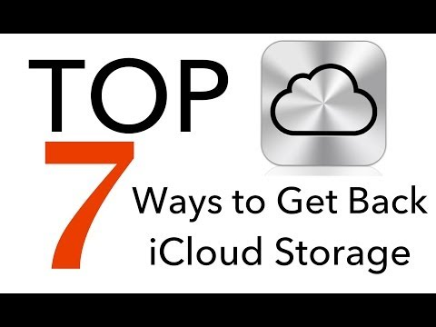 TOP 7 Ways to Get Back iCloud Storage