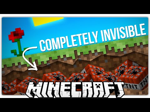 Minecraft | How To Build A Completely Invisible TNT Trap