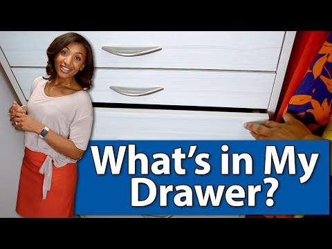 What's in My Drawer?