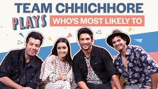 Shraddha Kapoor and Sushant Singh Rajput reveal who's most likely to cheat in love | Chhichhore