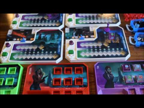 The Reckoners Game Overview with Designer Prototype