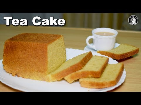Soft Tea Cake Recipe Without Oven - Pound Cake Tea Time Recipe - Kitchen With Amna