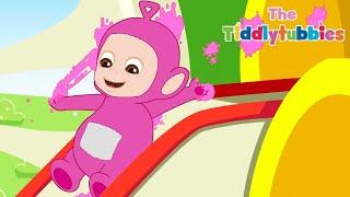 Teletubbies ★ NUEVOS Dibujos Animados de Tiddlytubbies ★ Ep 8: The Race ★ Dibujos para Niños
