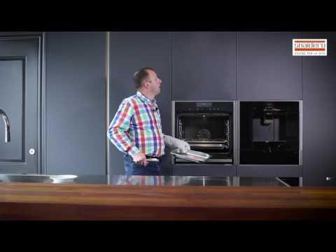 Neff FullSteam oven; how to make a boiled egg