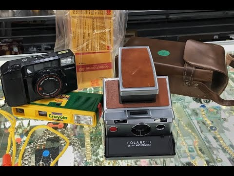 Finding Vintage Cameras at Thrift Stores