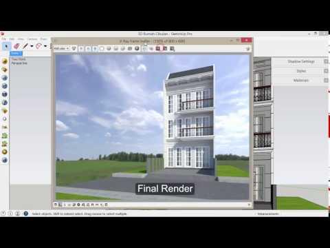 Tutorial Sketchup - How to set HDRI