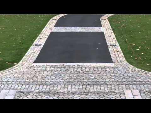 A European Cobblestone Driveway