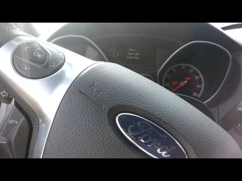 How to train your TPMS sensors on a 2013 Focus ST