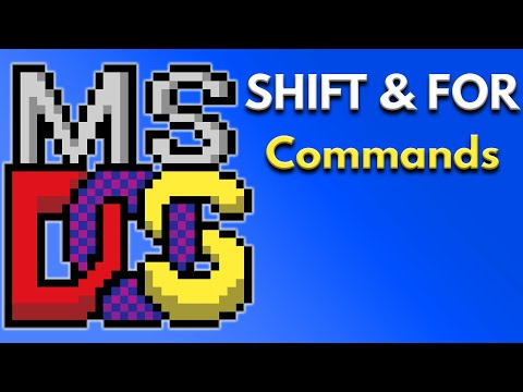 Batch File Programming - How to Use Shift and for Command