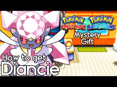 How to Get Diancie in Pokemon ORAS – CLOSED - Diancie MYSTERY GIFT EVENT – Diancie Tutorial Guide